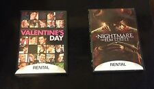 Movies DVD Valentines Day and Nightmare on Elm Street