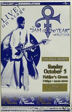 "PRINCE 1997 ""JAM OF THE YEAR TOUR"" DENVER CONCERT POSTER - Prince Playing Guitar"