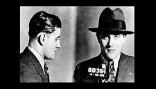 Bugsy Siegel Mug Shot PHOTO 1928 NY,Gangster, MURDER INC Mobster Las Vegas Mafia