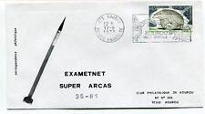 1975 Exametnet Super Arcas 35/81 Kourou Guyane Francaise Ville Spatiale SPACE