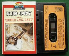 Kid Ory & His Creole Jazz Band inc St James Infirmary + Cassette Tape - TESTED