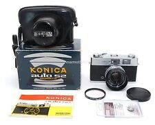 KONICA S2 FILM CAMERA! 90-DAY WARRANTY! EXCELLENT PLUS! CLA'd with NEW FOAMS!