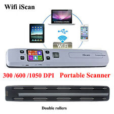 Portable 1050DPI High Resolution Rechargeable Color Wifi Scanner Document Photo