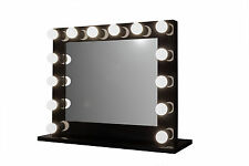 Grand Hollywood Lighted Vanity Mirror w/ Outlet