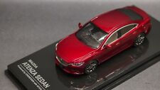 Kyosho Lv 1/64 Oversteer Mazda 6 Mazda ATENZA Sedan Wine Red new OS64008RE