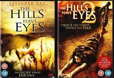 THE HILLS HAVE EYES 1 & 2 [One,Two] Alexandre Aja Gore Violent Horror DVD *EXC*