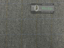 100% WOOL TWEED FABRIC( LENGTH 3.0 MT)