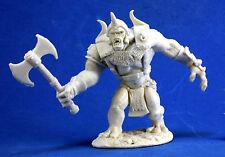 1 x TROLL des MONTAGNES - BONES REAPER figurine miniature jdr d&d moutain axe