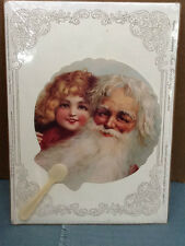 New! Turn-of-the-Century Fan Greetings THE OLD PRINT FACTORY 1901 Reproduction