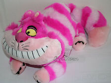 "NEW Disney Store Exclusive Alice In Wonderland 20"" Cheshire Cat Plush Toy Doll"