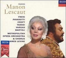 NEW Giacomo Puccini: Manon Lescaut by Mirella Freni Luciano Pavarotti CD (CD)
