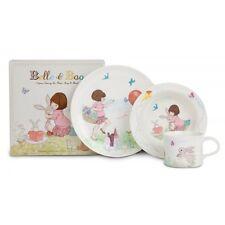 BELLE UND & BOO 3-teiliges Frühstücks-Set - Tasse Teller Müslischale Oetinger