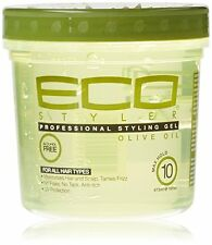Eco Styler Olive Oil Styling Gel 12oz 355ml + Free P&P