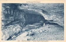 FORÊT DE LENTE 221 grotte source du brudour photo boyer écrite 1940