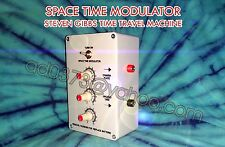Time Travel Machine (STM) Space Time Modulator- by Steven L. Gibbs +