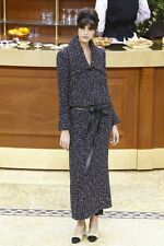 Chanel 15K Runway Multicolor Tweed Jacket  38 36