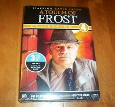 A TOUCH OF FROST Collection 4 David Jason BBC British TV Classic Series NEW
