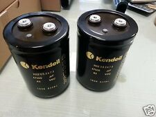 2x NEW KENDEIL 47000UF 63V K02 HI END CAPS 105C FOR KSA50 & McIntosh MC-2300!