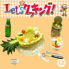 Rare! Re-ment Miniature Let's Cooking Dessert Kitchen Sp12 - Secret Fruit Punch