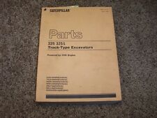 Caterpillar Cat 325 L Excavator 3116 Engine 8JG1- 7CJ1- Parts Catalog Manual