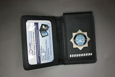 SIA Warrant Card Holder / Wallet with Badge standard version