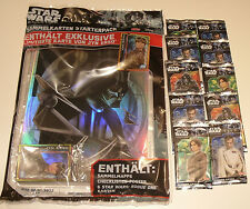Topps Star Wars Rogue one-Starter pack + 10 Booster nuevo & OVP