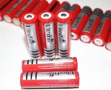 UltraFire 18650 3.7v /3000mAh Protected Rechargeable Battery for Flashlight Pair