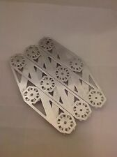 Vintage Art Deco Style Chrome Plated Expanding Trivet Hot Pad Tray Holder
