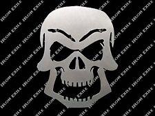 Skull 03 Metal Stencil Wall Art Garage Hot Rat Rod Motorcycle Chopper Kustom