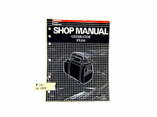 HONDA EX350 GENERATOR SHOP MANUAL (#265)