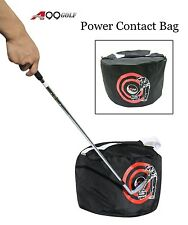 Spicybuys Golf Swing Training Aids Golf Impact Contact Power smash Bag Black