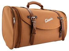 Tasche Case Gepäckrolle Koffer Universal Braun Classic 35L Retro Style Roller