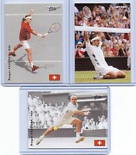 "ROGER FEDERER 2003 ""3 CARD LOT"" NETPRO TENNIS CARD! 7X WIMBLEDON CHAMPION!"