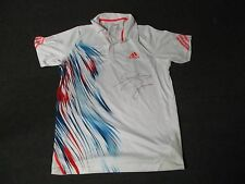2012 US Open Men's First Round Jo-Wilfried Tsonga Match Used Worn Adidas Shirt