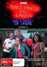 2 Pints Of Lager And A Packet Of Crisps : Series 3 (DVD, 2009, 2-Disc Set) New