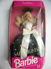 POUPEE  DOLL BARBIE SATIN NIGHTS blonde # 1886 de 1992-