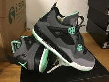 "Nike Air Max Jordan 4 IV Retro ""Green Glow"" 408452-033 Sz 5.5Y Free Ship 2 5 X V"