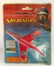 Matchbox Skybusters SB-11 Alpha Jet - Red/White - Mint/Carded