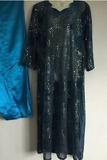 Salwar Kameez Kaftan saree Indian Bollywood Fancy Dress Costume (S) Uk 10