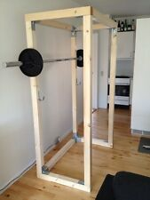 Build Your Own Wood Gym Equipment, Home Gym Plans for Bodybuilding and Fitness