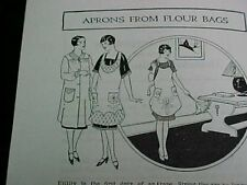 Vintage Book Cotton Feedsack Flour Sack 1920s Booklet Sewing Ideas Projects