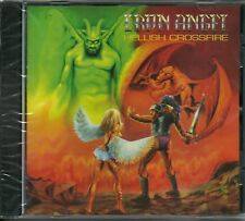 IRON ANGEL-HELLISH CROSSFIRE + 6 BNS TCK-CD-speed-thrash-living death-angel dust