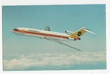 Continental Airlines 727 Trijet Aviation Postcard, A662
