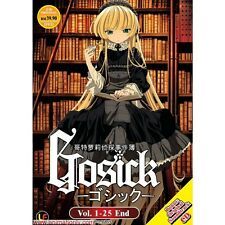 DVD GOSICK (TV 1 - 25 end) + OST CD +  DVD  + Free Postage with Tracking