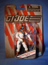 GI JOE STORM SHADOW Ninja (White Clothes) DOLLAR GENERAL EXCLUSIVE MOC