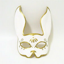 2017 Handmade Utopian Leather Splicer Inspired Rabbit Masks Cosplay Masque Party