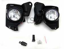 Kits Front Fog Lamp Spot Lights Lh+Rh Fit Toyota Commuter Hiace 2015 2016 D4d