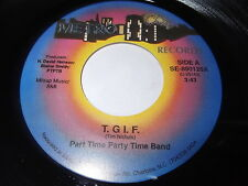 Part Time Party Band: T.G.I.F. / Cold Woman 45 - Beach Soul