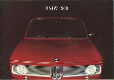 Brochure BMW 1800 - 1965 - Originale d'epoca Automobilia