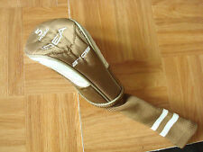 ADAMS IDEA a7os IDEA HYBRID RESCUE # 5 HEADCOVER a70s - brown & white - NEW